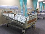 [أغ-بمس001] مع يسكت عجلات مستشفى سرير قابل للتعديل يدويّة غير مستقر