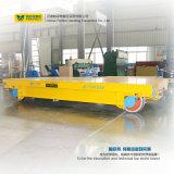 Véhicule plat motorisé de transfert de longeron de basse tension de capacité de 80 tonnes