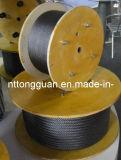 PVC 철강선 밧줄 1*19