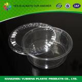 Contenitore di alimento di plastica rotondo a gettare di Biodegradeable con il coperchio