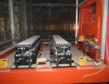 Automatisches Speicher-und Informations-Retrievalsystem (ASRS) mit Gabelstaplerkran