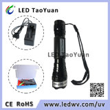 La torcia UV del LED usa la luce rossa 620-630nm 3W