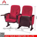 Общественный стул Yj1003r аудитории церков ткани мебели
