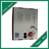 Scatola di cartone stampata abitudine piegata