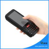 4 explorador terminal Handheld androide del código de barras de Rugeed PDA de la pantalla táctil de la pulgada con NFC/4G