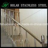 Portátil de acero inoxidable barandillas de escalera