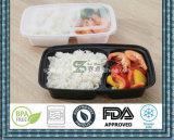 2 Fach-Mahlzeit-Vorbereitungs-Behälter-Nahrungsmittelspeicher