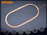 Decklack-kupferner Magnet-Draht Bobbinless Luft-Induktions-Ring