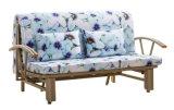 Металлическая рама в сложенном виде ткань диван-кровать Домашняя мебель