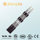 PVC CATV e CCTV Communication Coaxial RG6 Cable