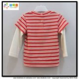 새로운 디자인 아기 의복 남녀 공통 아기 t-셔츠