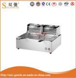 Friteuse profonde électrique 12L de cuisine de Tableau commercial de matériel