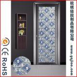 유리제 문, 꾸밈이 없는 새로운 디자인 및 필름과 유사한 품위있는 줄무늬 필름을%s 장식적인 필름