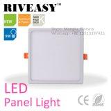 Indicatore luminoso di comitato posteriore di alluminio del quadrato 9W LED della plastica & del blocco per grafici