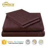 Insiemi standard del lenzuolo del tessuto di cotone di stile dell'hotel classico europeo di disegno