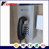 Telefon mit LCD-Bildschirmanzeige für Insasse verwendetes Gefängnis-Bordbodentelefon