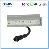 10W 최신 판매 12V 실내 LED 선형 세 배 증거 Auminum 단면도 지구 빛