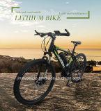 250W 36V 26 '' Mediados de-Conducen la manivela eléctrica Ebike de la aleación de aluminio de la bicicleta del motor