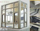 Finestra di alluminio impermeabile della stoffa per tendine disegno caldo di vendita di nuovo doppia con le veneziane