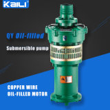 4 Saída de QY Oil-Filled bomba submersível Bomba de Água Limpa(única etapa)