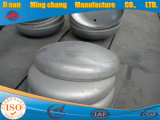 중국에서 비용 효과적인 강철 타원형 접시에 담긴 헤드