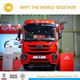 Hongyan Genlyon 6*4のトラクターはモータートラクターをトラックで運ぶ