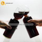 個人化された不規則な形のワイングラスのコップ