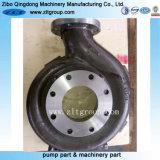 Enveloppe de pompe de Durco de pompe centrifuge de norme ANSI d'acier inoxydable