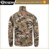 Esdy Men's Shirt Skin Ultra-Thin Tactical Breathable Clothes