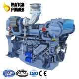 Лучшая цена Weichai 480HP WP13c морской дизельного двигателя на лодке Steyr двигатель 353квт