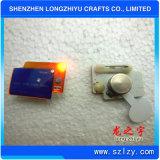 주문 유행 저속한 금속 기장 및 PVC에 의하여 인쇄되는 에폭시 기장
