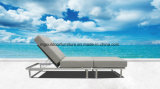 Le rotin Outdoor Chaises longues confortables chaises longues en bordure de piscine
