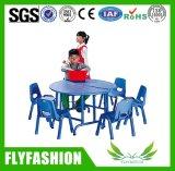 熱い販売の学校の子供のFurenitureの木のチェアーテーブル