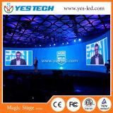Farbenreiche Innen-/im Freien video Lichtbogen Mietform gebogene LED-Bildschirmanzeige
