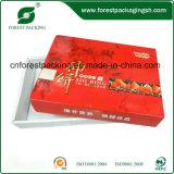 Caixa personalizada logotipo do pacote do papel dos frutos secos