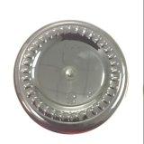 300cc vuelta y botella de PET plásticos claros para la cápsula con tapón de rosca