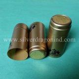 Capsules de rétrécissement de PVC de coutume pour le cachetage de bouteille de vin