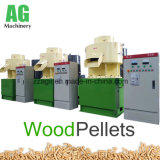 A linha de tomada de pelotas de biomassa de serradura de madeira máquina de Pelotas