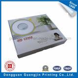 Цветастая коробка бумаги печатание гофрированная упаковывая с лоснистым слоением