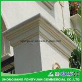 Cemento della decorazione che ricopre profilo di modellatura durevole del testo fisso di ENV per la villa