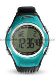 Het multifunctionele Digitale Horloge van de Pedometer met de Tijdopnemer van de Aftelprocedure