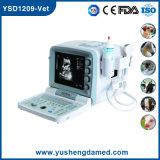 Ysd1209獣医の馬または牛またはヒツジまたはブタの獣医の使用のポータブルの超音波
