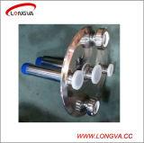Protezione di estremità sanitaria dell'acciaio inossidabile con gli accessori per tubi di vetro di vista e del puntale