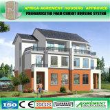 Econômico aprontar o trabalhador feito de China casas Prefab com painéis solares