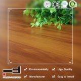 8mm 빨강 너도밤나무 3 지구에 의하여 밀초를 바르는 Eco-HDF 박층으로 이루어지는 마루