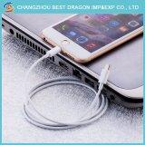 Der Weiß-Universalitäts-1m Mikrotyp c-Telefon-Aufladeeinheits-Kabel Daten-Kabel USB-2A für iPhone 8/8plus