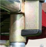 [10فت] مستديرة أحمر 4 ساق [ترمبولين] مع أمان إحاطة