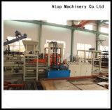 Máquina de fabricación de ladrillo completamente automática de la producción