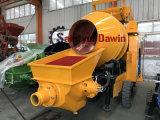 56kw Lovol motor diesel da bomba de concreto com sistema de mistura da bomba de mistura de concreto sobre a venda