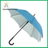 卸売価格8のパネルのロゴプリントが付いている白いゴルフ傘を広告する普及した23インチのアルミ合金